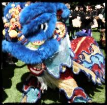 Dragon dance at last year's Mela.