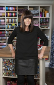 Claudia Winkleman, presenter of the new BBC series, The Great British Sewing Bee.