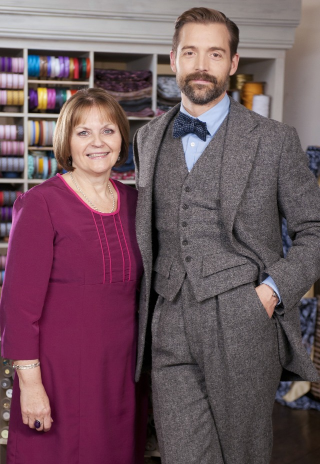 The judges, May Martin and Patrick Grant.