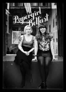 Jodie (left) and Julie. Pic: Gareth Hammond.