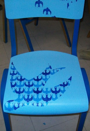 Bluebird chair