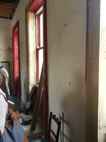 These wooden shutters will be retained and restored.
