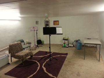 Another basement room, used by Left Hand Cinema.