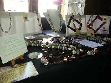 Beautiful jewellery examples from The Bead Shop