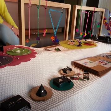 Beth Wylie's lasercut jewellery