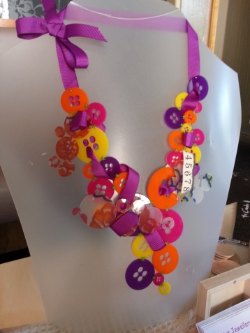 Also from Beth Wylie, beautiful buttons in her Squirt Jewellery range