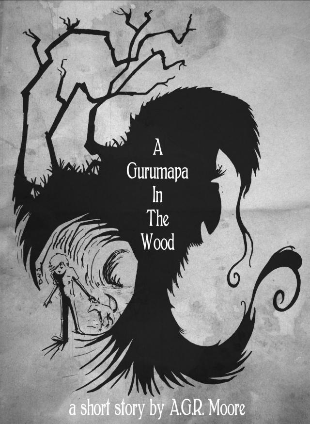 A Gurumapa in the Wood - artwork by Carl Rothwell