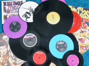 You can photocopy a favourite record to make your label.