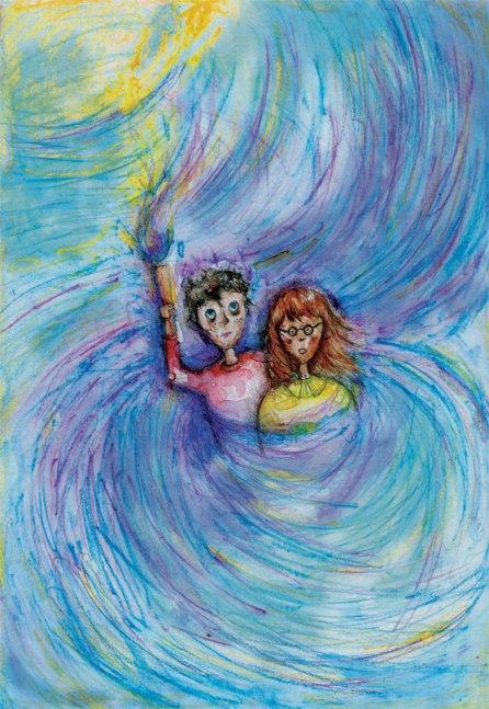 Boy and Violet