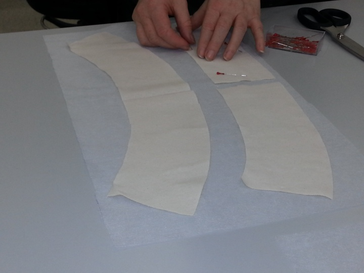 A quick tutorial on how to use interfacing/fusible.